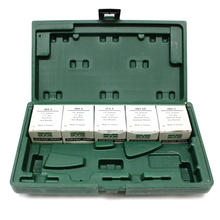 Marson 39001 HP-2 Riveter Tool Kit with an assortment of rivets.