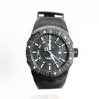 Invicta Men's 0670 II Collection Sea Scavenger GMT Black Dial Black Watch