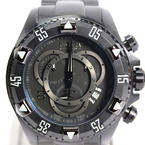 Invicta Men's Reserve Chronograph Excursion Touring 6474 Black Plated Watch