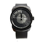 Diesel Men's DZ1262 Black Advanced Blackout Quartz Watch with Black Dial