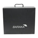 Red Baraka Italian Bag Brief Case Luxury Industries purse