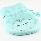 Authentic Tiffany & Co Platinum Diamonds By The Yard Elsa Peretti Bracelet