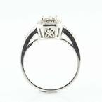 Admirable 14K White Gold Diamond Engagement Ring