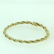 Stunning Ladies 10K Yellow Gold Seed Pearl Bracelet Jewelry