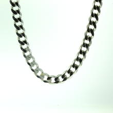 "Handsome Men's 925 Silver 28"" Cuban Link Chain Jewelry"