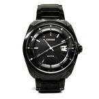Men's Citizen Eco Drive J810-S110331 GN-4W-S Stainless Steel Watch All Black