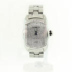 Invicta Ladies Lupah Pave Diamond Bezel Stainless Steel Watch 2683