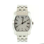 Handsome Bulova Accutron 63B158 Strafford Collection Stainless Steel Wrist Watch