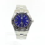 Handsome Mens Tag Heuer Classic Professional WN1112 Stainless Steel Quartz Watch