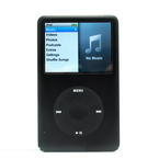 Apple iPod Classic MB147LL A1238 6th Generation 80GB Mp3 Music Player Black