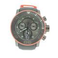 Men's Invicta Sea Hunter Diver 10714 Chronograph Orange Gunmetal Swiss Wrist Watch