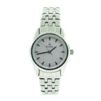 Beautiful Ladies Bulova Stainless Steel 96L127 Watch Silver