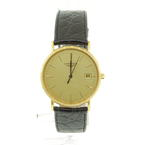 Authentic LONGINES Le Classique Gold Plated & Steel Quartz L4.636.2 Gent Watch