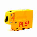 "Pacific Laser System PLS3 Self Leveling 1/4"" Accuracy Plumb Level Alignment Tool"