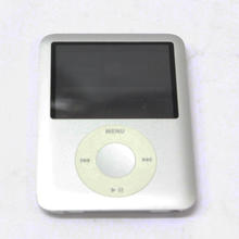 Apple iPod Nano 3rd Generation 4GB Silver A1236 Mp3 Music Audio Player