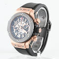 Authentic 18K Rose Gold Hublot Big Bang Unico King Ceramic Mens Watch