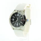 TOMMY HILFIGER by MOVADO Men's White Rubber Strap Date Watch 185.1.95.1295