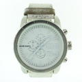 Diesel Watch - Dz4240 - White Chronograph Leather Men's Watch