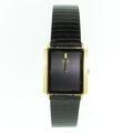 Seiko Two Tone Black/Gold Mens Watch Analogue Quartz 7430-5169
