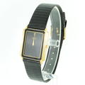 Seiko Two Tone Black/Gold Mens Watch Analogue Quartz 7430-5169