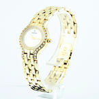Concord 14K yellow gold Round Diamond Ladies Watch