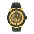 Stuhrling Original Automatic Mens Winchester Skeleton ST 90089 Rubberband Watch
