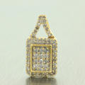 Charming Ladies 10K Yellow Gold Diamond 0.50CTW Pendant Jewelry