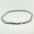 Sterling Silver 925 Cuban Linked Men's Bracelet