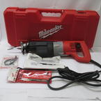 Milwaukee Heavy Duty Saw Sawzall Reciprocating 10 Amps 6509-22 With Extra Blades