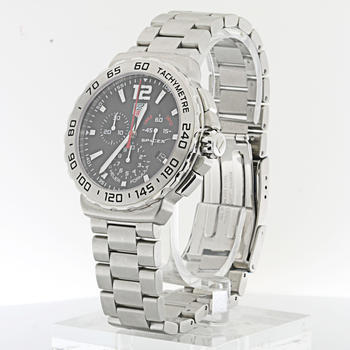 Authentic Tag Heuer SpaceX Chronograph F1 Stainless Steel Limited Edition Watch