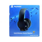 Sony PlayStation CECHYA-0083 Gold Wireless Stereo Headset PS4 PS3 & PS Vita