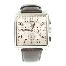 Men's Guess Collection Swiss Made Chronograph Square Watch Model#GC40000