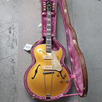 Gibson Memphis 1952 Reissue ES-295 Hollowbody Electric Bullion Gold Color Guitar