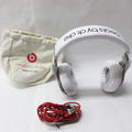 Beats By Dr. Dre Monster Beats Pro  Headphones White With Carrying Bag