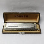 M.Hohner Germany The 64 Chromonica 4 Chromatic Octaves Professional Harmonica