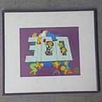 The Simpsons Original Hand Painted Cel Limited Edition 300th Episode