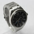 Nautica N17600G Classic Coin Stainless Steel Quartz Men's Black Dial Watch