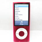 Pink Ipod Nano 8Gb 5Th Generation MC050LL MP3 Music Audio Player