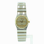 Rare Vintage Ladies Concord Mariner SG Gold & Stainless Steel Watch 15.73.145V14