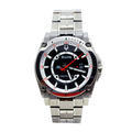 Men's Bulova Precisionist 96B133 Champlain Black Dial Titanium Silver Tone Watch
