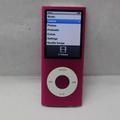 Apple Pink iPod Nano 4th Generation MP3 Player MB735LL 8GB