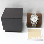 Michael Kors Ladies Pressley Chronograph Stainless Steel Quartz MK5834 Watch