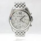 Michael Kors Ladies Pressley Chronograph Stainless Steel Quartz MK5834 Watch