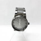Nixon The Cannon ALL GUNMETAL Analog Dial Silver Steel Bracelet Men Watch