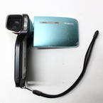 Sanyo Xacti VCP-E1 Waterproof Video Camcorder-Blue