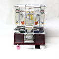 TPico Basketball Coin Shooter Tabletop Gum Ball Candy Vending Machine