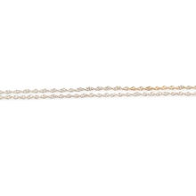 """NEW Classic 14K White Gold  Rope 16"""" Spring Ring Clasp Chain"""