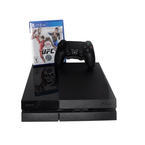 Sony PlayStation 4 PS4 CUH-115A 500GB Video Game Jet Black Console W-Game