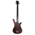 Warwick Corvette Standard 5 String Bass Guitar W. Hard Case
