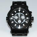 Renato Mens Calibre Robusto Collection 21/75 Black Stainless Steel Swiss Watch